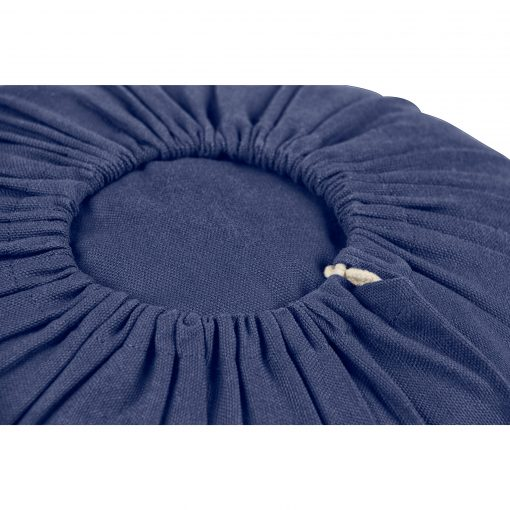 Lotuscrafts Drawstring Organic Bolster - Royal Blue