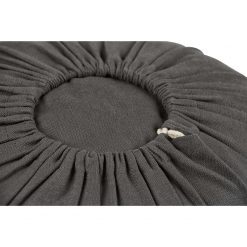 Lotuscrafts Drawstring Organic Bolster - Anthracite Black