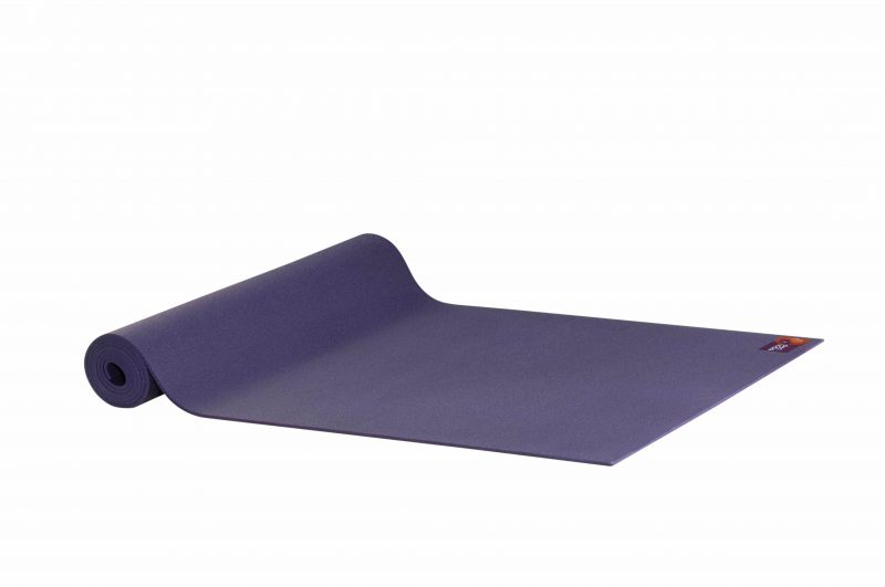 Ako Yin Yang Studio Manduka Quality Eco Yoga Mat Purple unrolled