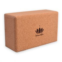 Lotuscrafts sustainable cork brick oversized logo