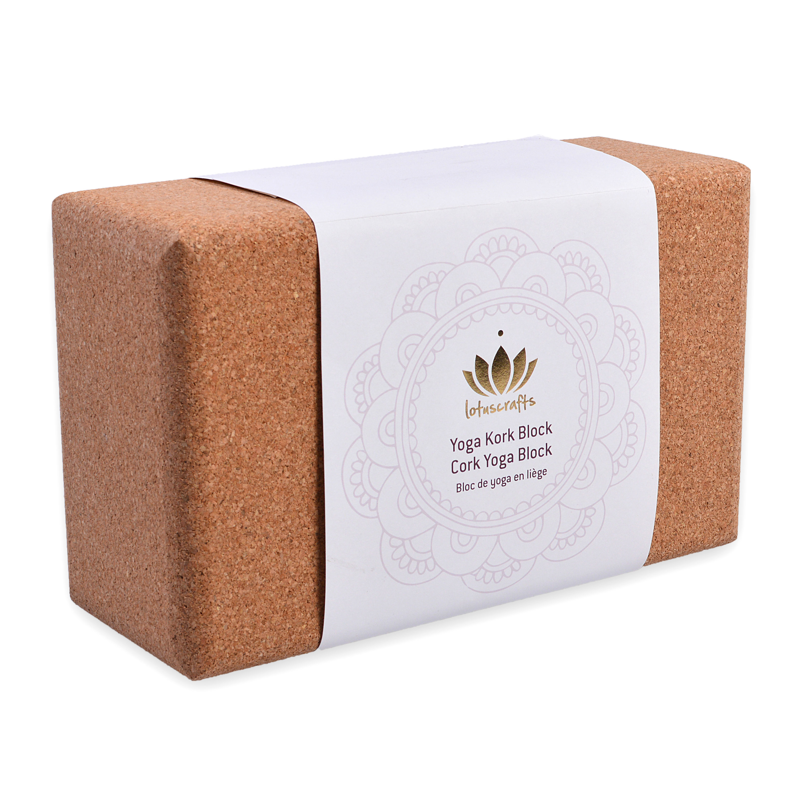 Lotuscrafts sustainable cork brick oversized