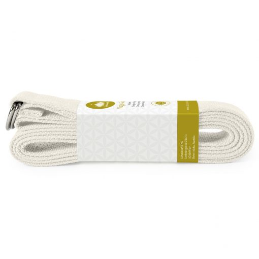 lotuscrafts organic yoga strap natural