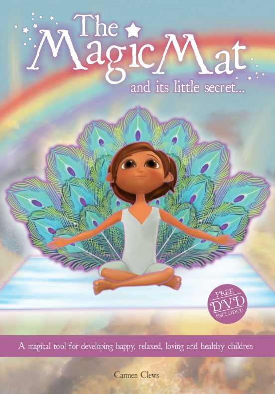 Kids yoga gift The Magic Mat and it's Little Secret by Carmen Clews