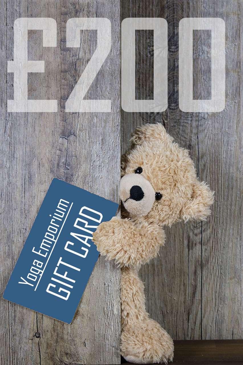 Yoga Emporium Gift Card Voucher £200
