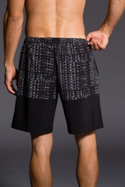 Onzie Mens Boardshort Levels gym fitness running yoga shorts
