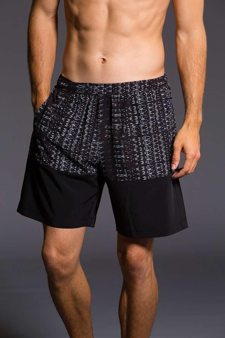 Onzie Mens Boardshort Levels gym fitness running yoga shorts