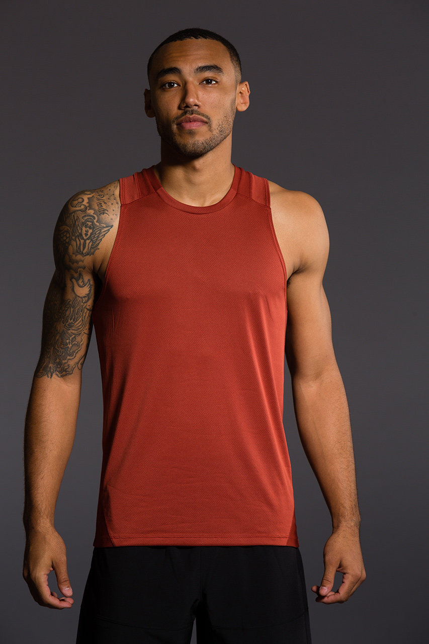 Onzie Mens Muscle Tank - Mars gym fitness running