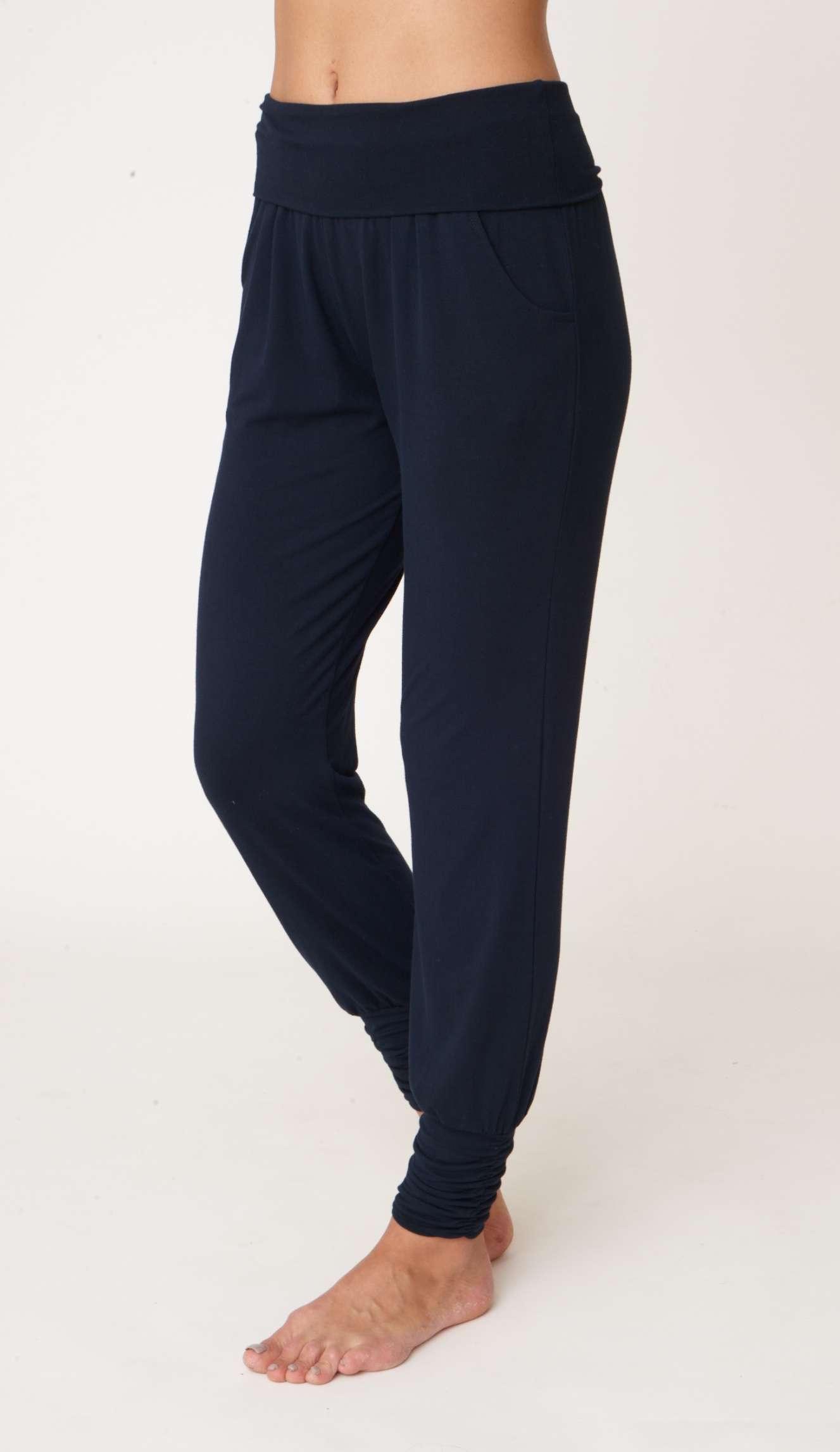 Asquith Long Harem Pants Navy