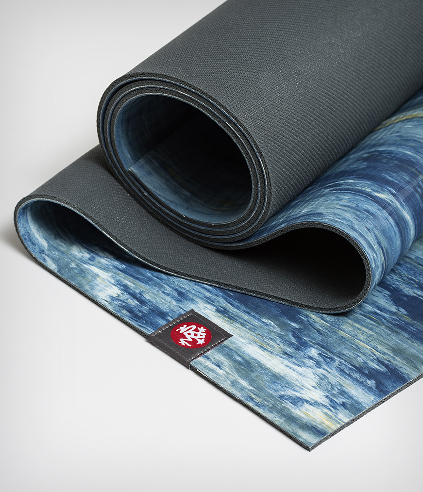 Manduka Eko Yoga Mat 5mm Blue Trogon