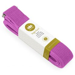 Lotuscrafts Organic yoga strap violet purple