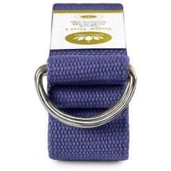 Lotuscrafts Organic yoga strap royal blue