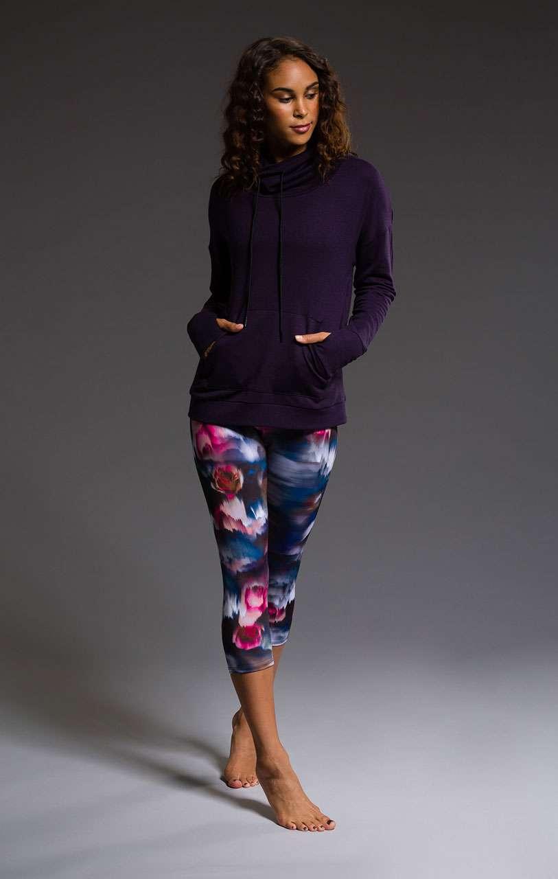 Onzie Capris yoga leggings fast flower hot yoga