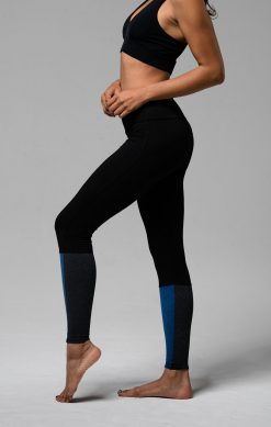 onzie moonlight blue full length street yoga leggings