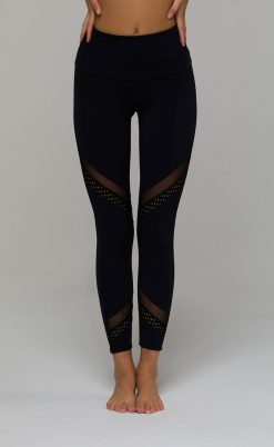 onzie sporty black midi leggings
