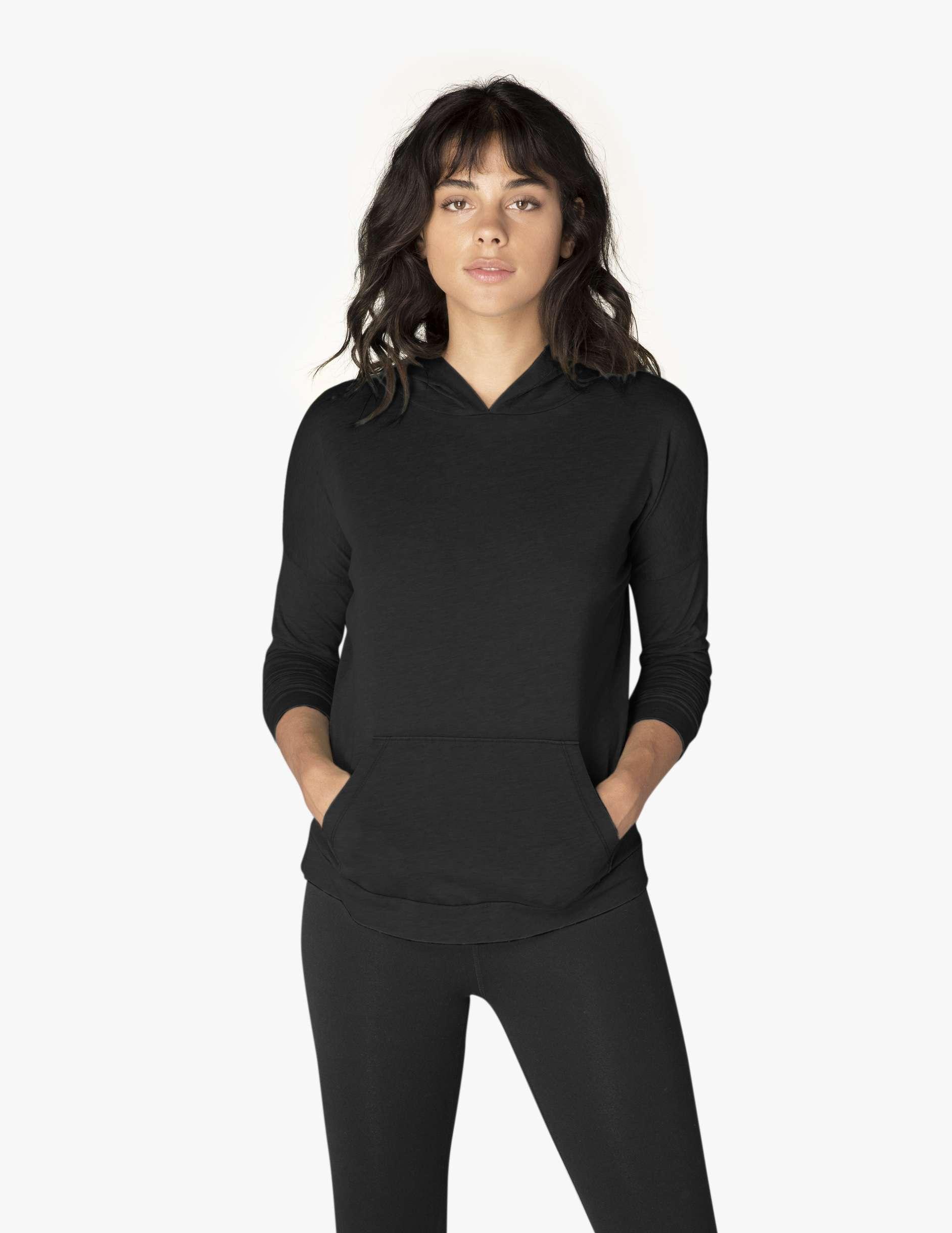 Beyond yoga daybreaker hoodie - black