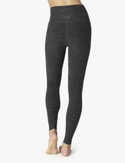 Beyond Yoga Full length luxury leggings black charcoal