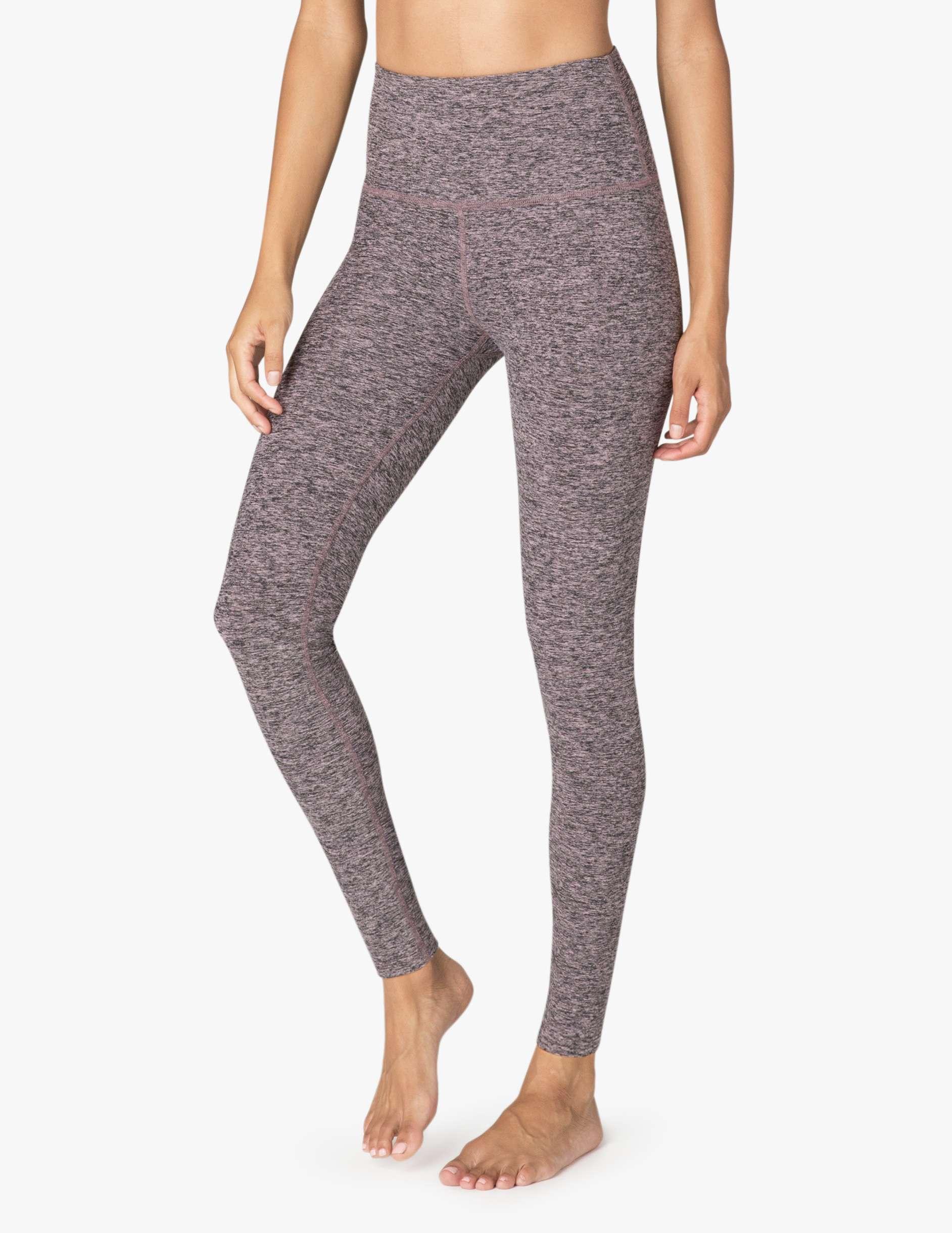 Beyond Yoga Spacedye High Waist Yoga leggings full length black pink opal