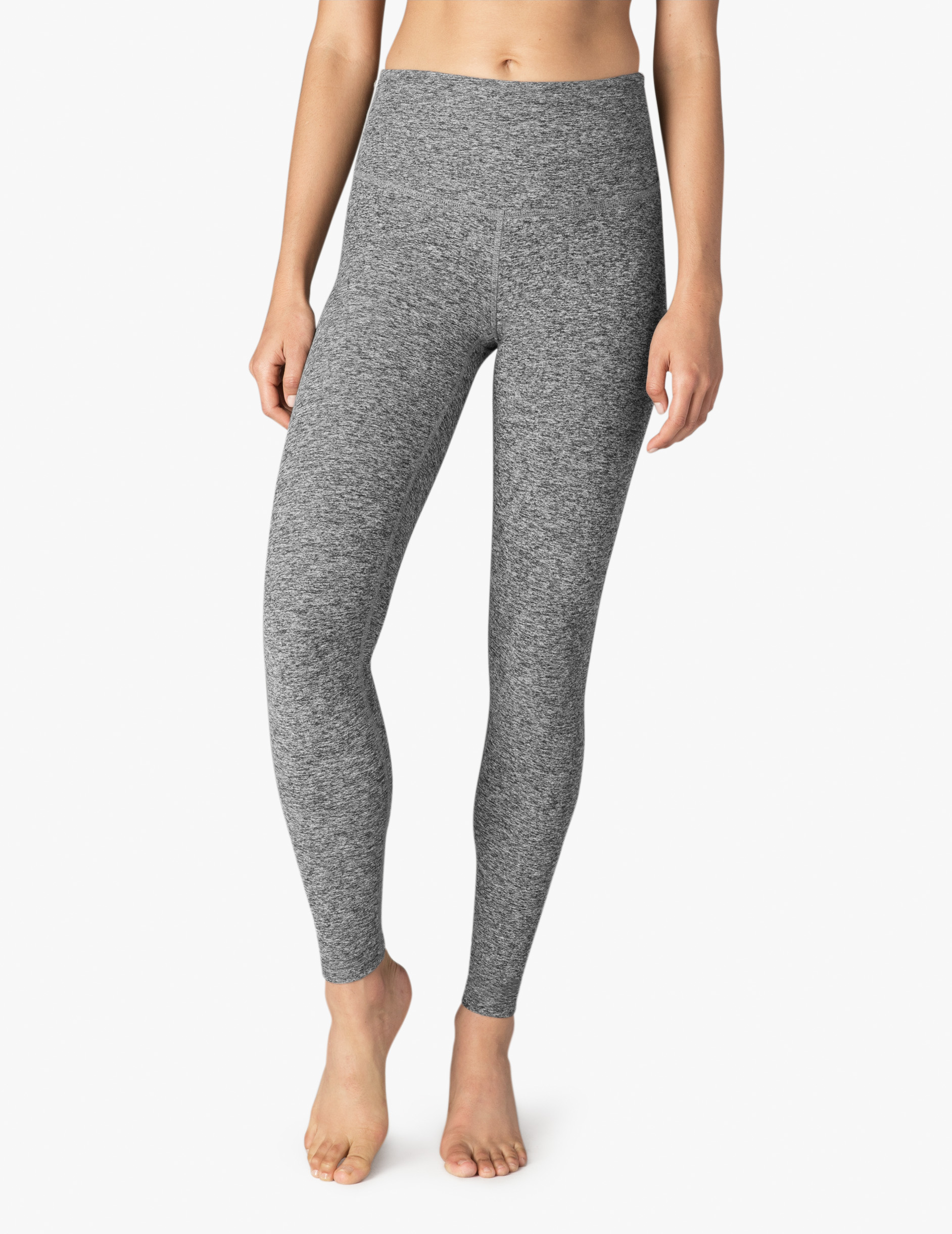 Beyond Yoga Spacedye High Waist Yoga leggings full length black white