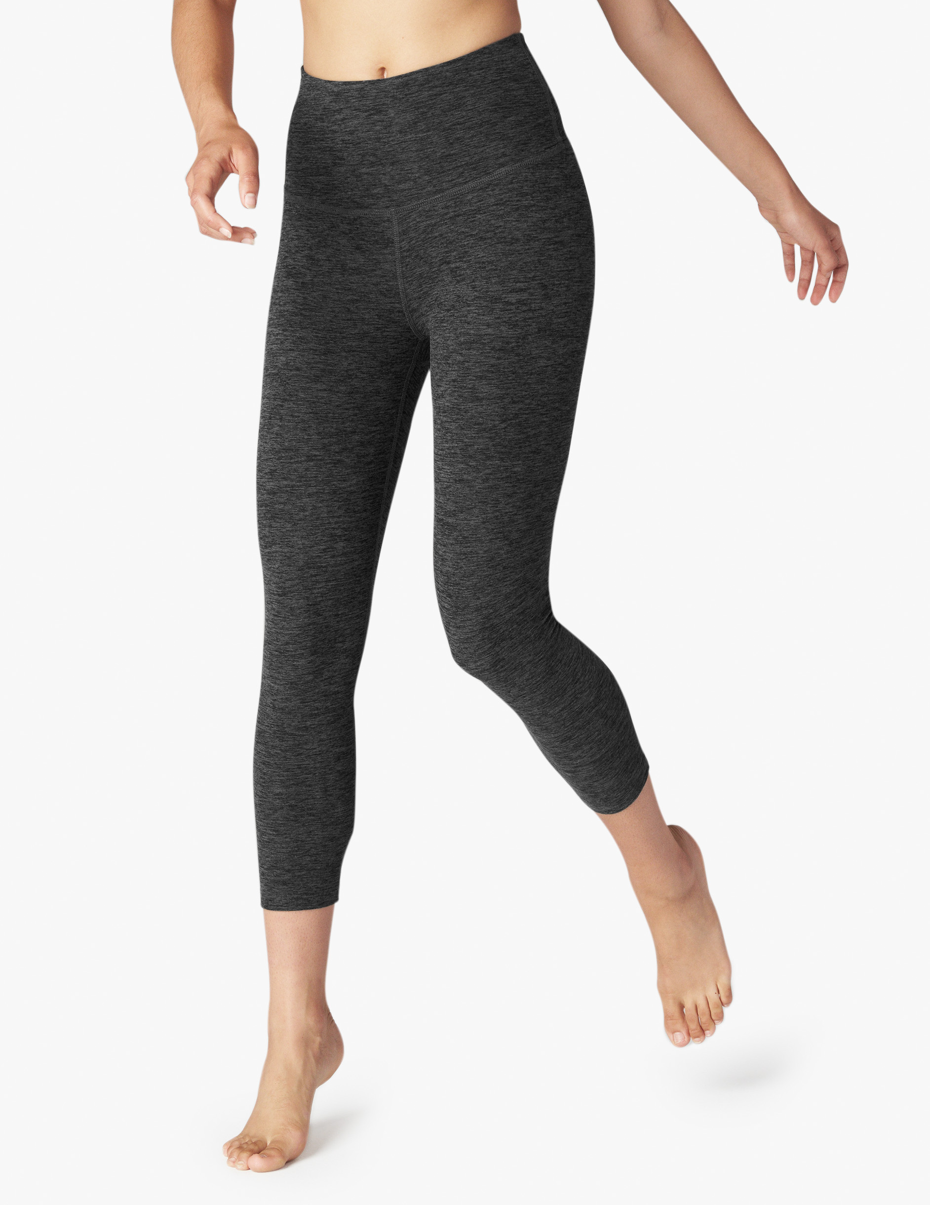 Beyond Yoga High Waist capris black Charcoal