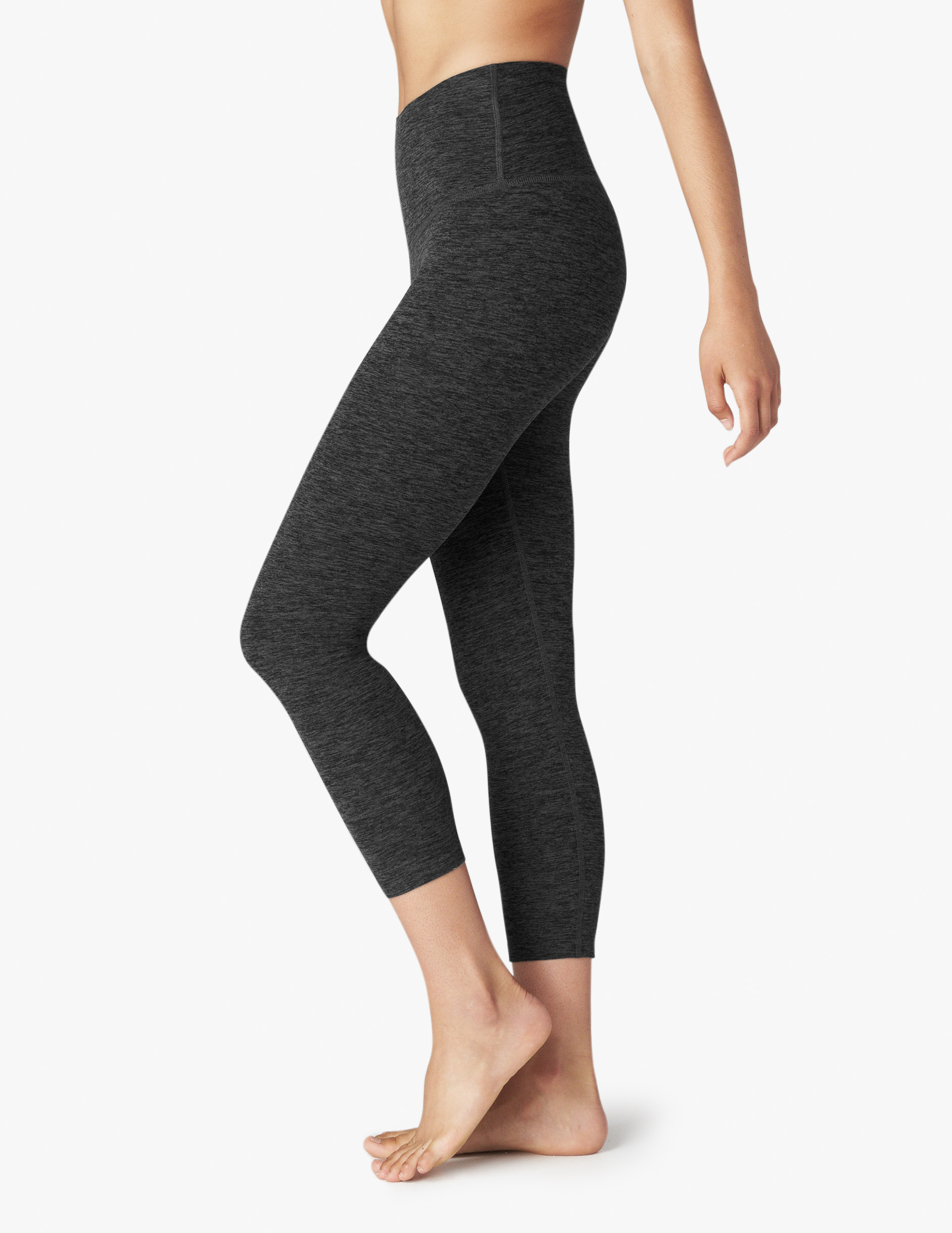 Beyond Yoga High Waist capris black Charcoal