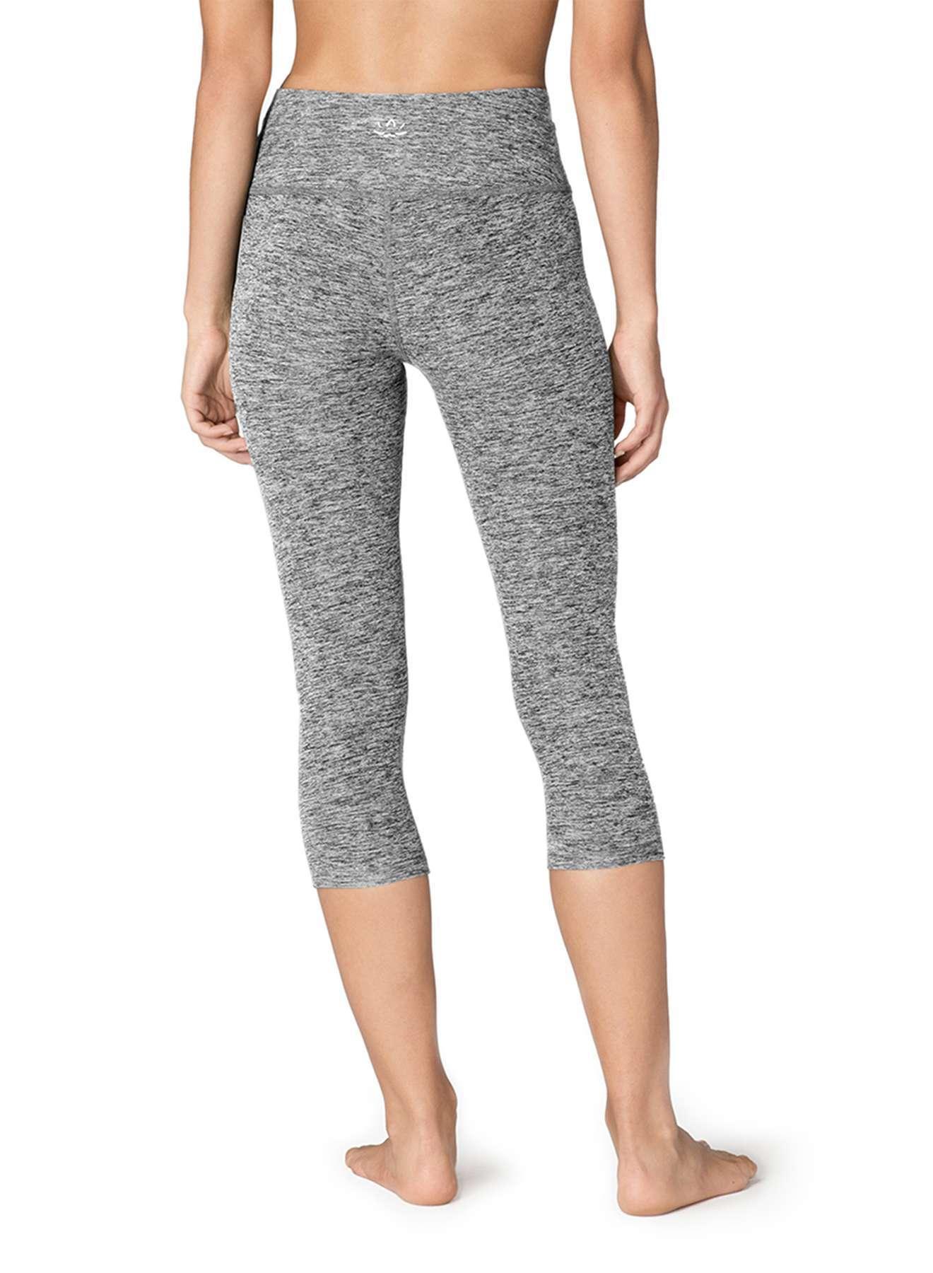 Beyond Yoga Spacedye capris yoga leggings black white