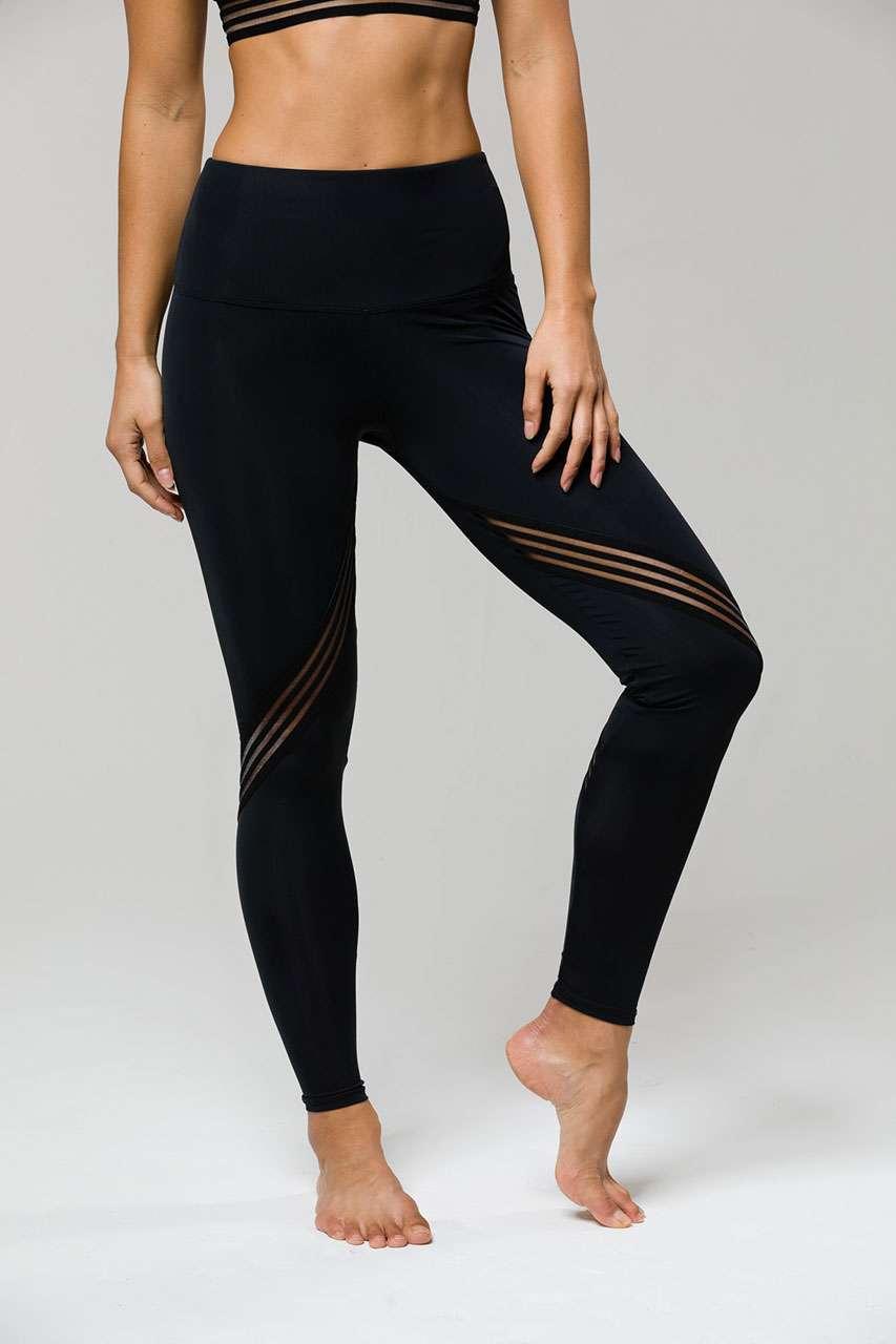 volume large san francisco buying cheap Onzie HIGH RISE Full Length Carrera Yoga Leggings - Black