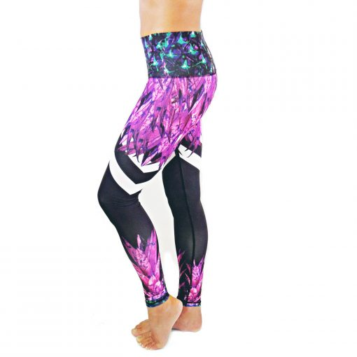 Spirit Girl full length yoga leggings pineapple express leggings