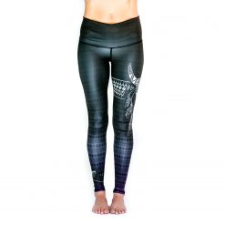 Spirit Girl full length yoga leggings Spirit colourful activewear