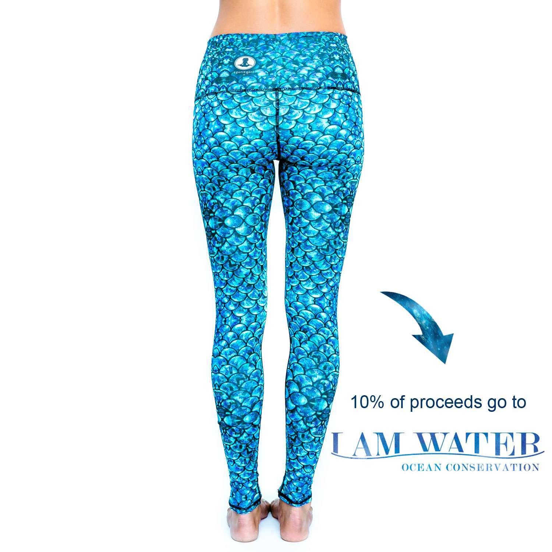 Spirit Girl Full Length Yoga Leggings – I Am Water