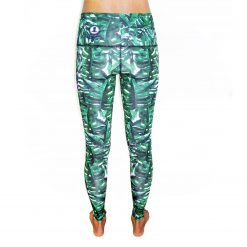 Spirit Girl full length yoga leggings jungle fever leggings