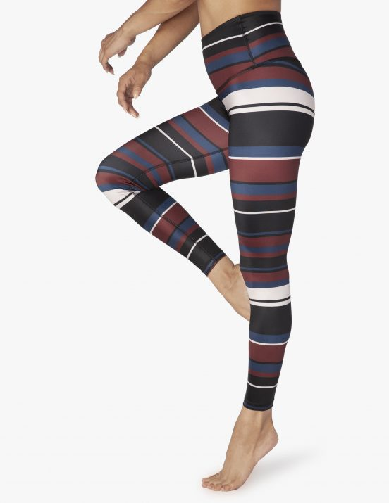 Beyond Yoga Fallen Stripe Leggings High Quality Activewear
