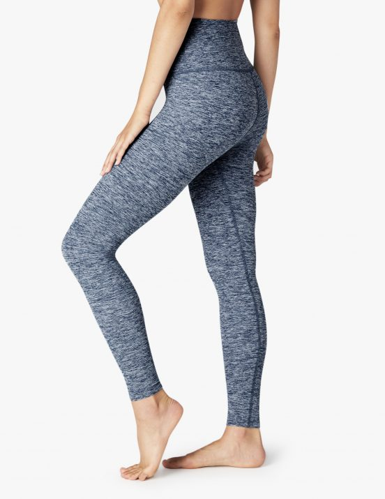Beyond yoga full length leggings white outlaw navy