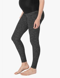 beyond yoga maternity leggings super soft black charcoal high quality