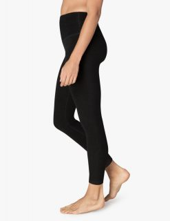Beyond yoga Spacedye Midi yoga leggings darkest night high quality black