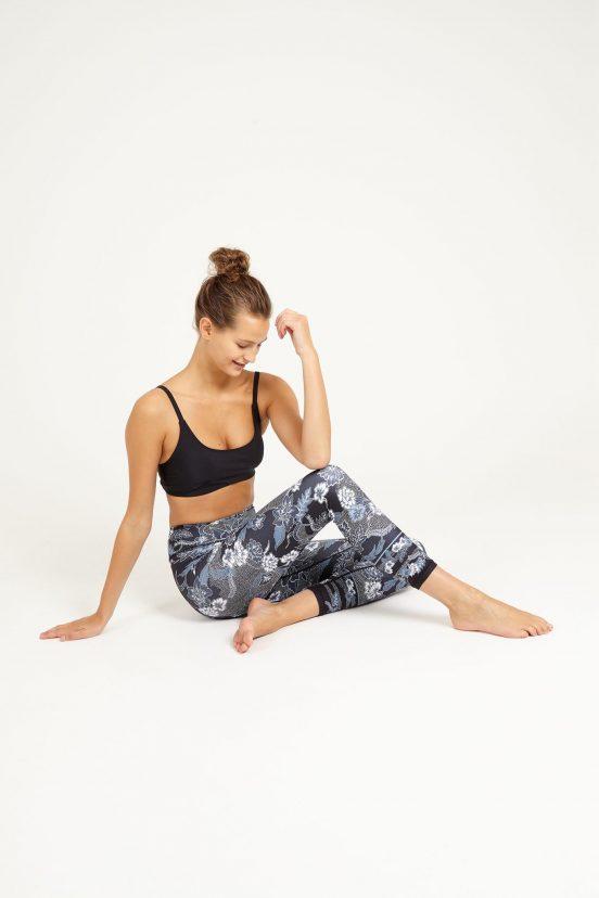 Dharma bums botanic high waist cropped legging yoga