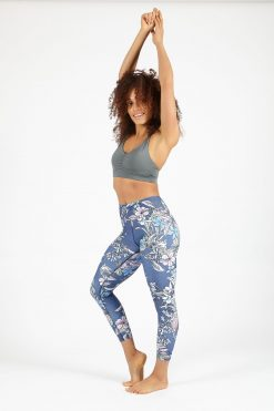 dharma bums songbird cropped high waist legging yoga