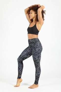 dharma bums snake charmer full length high waist legging yoga