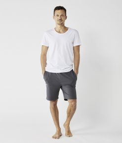 lotuscrafts mens yoga short graphite grey
