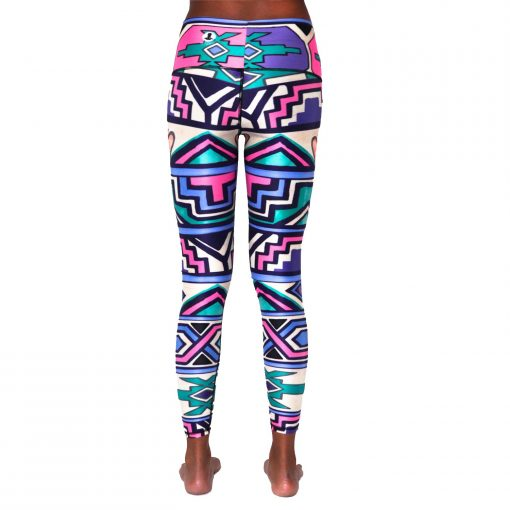 spirit girl yoga leggings pants ndebele queen