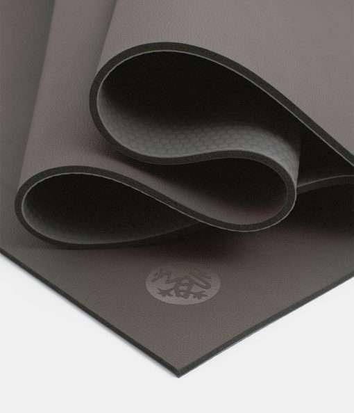 manduka hot yoga mat grp steel grey