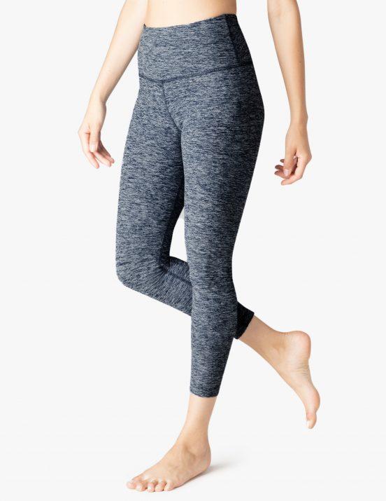 beyond yoga white outlaw navy cropped yoga leggings