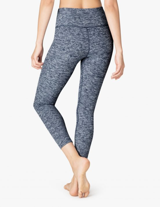 beyond yoga white outlaw navy cropped yoga leggings