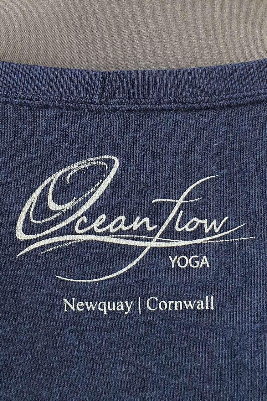 Oceanflow Yoga Wear Jumper Meditating Mermaid Navy Blue