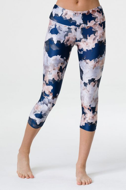 onzie yoga capri yoga leggings nomad blossom