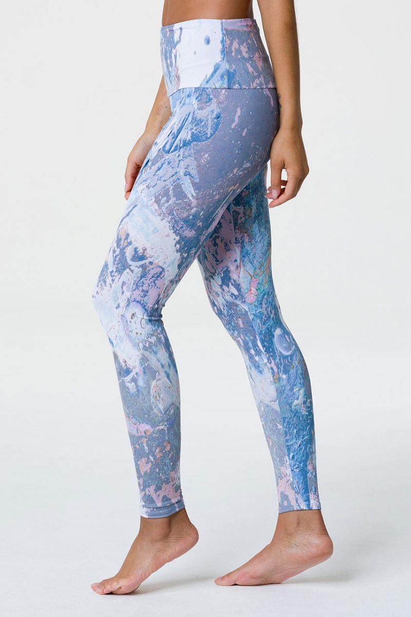 onzie high waist full length yoga leggings love stone