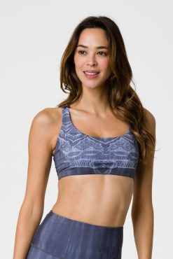 onzie graphic chic yoga bra sacred