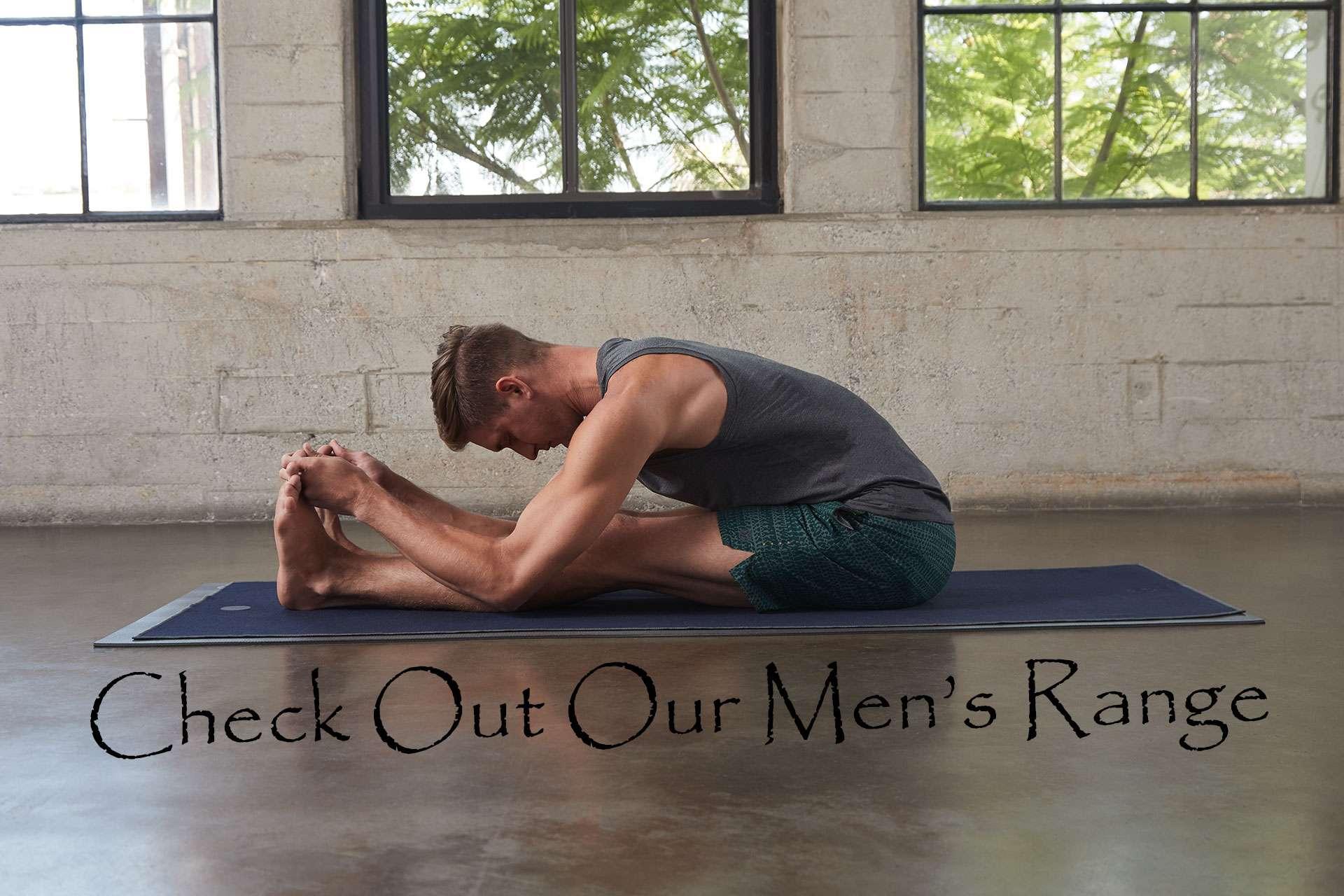 Yoga Emporium Mens yoga clothes
