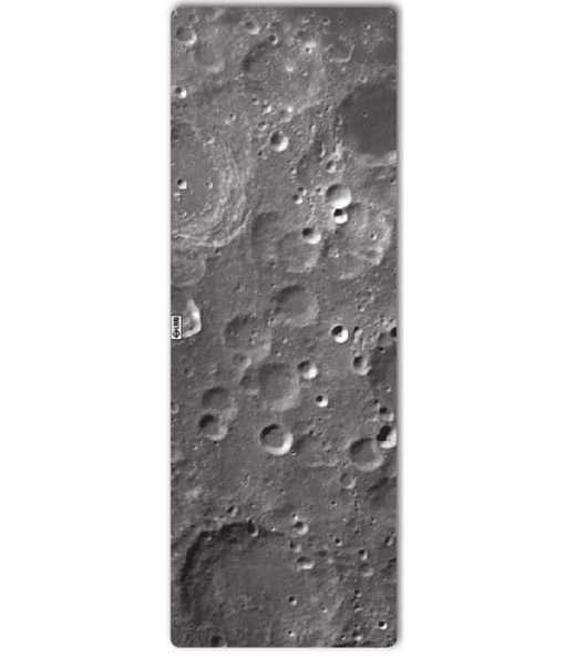 leus hot yoga towel lunar print