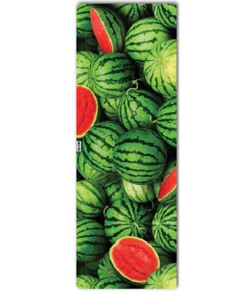 leus hot yoga towel watermelon wonderland