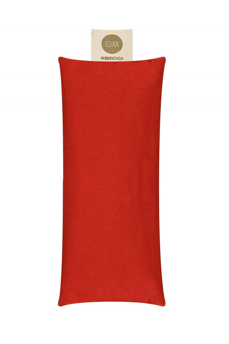 Ako yoga lavender eye pillow red